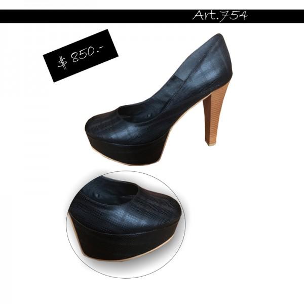 ART 754 zapato Luis XV