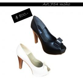 ART 754 zapato Luis XV con moño