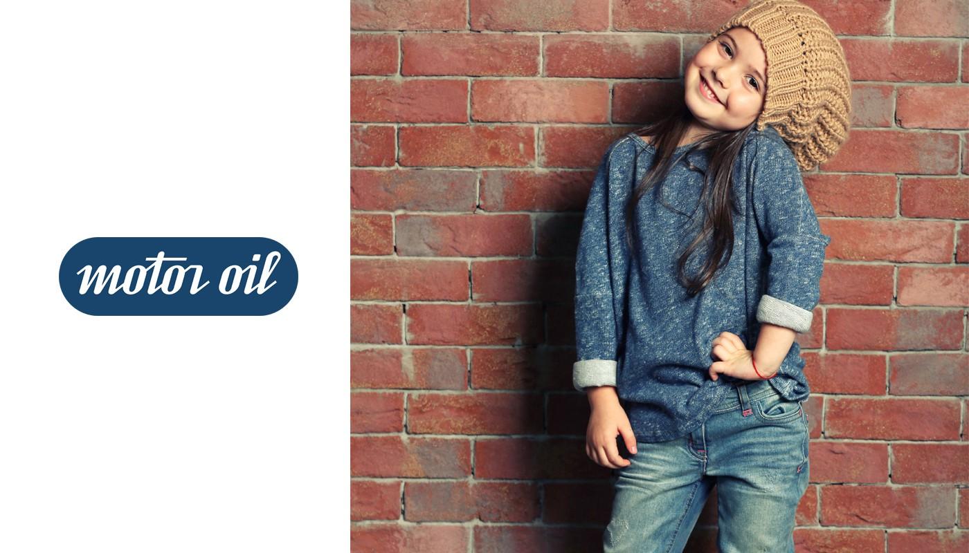 Jeans nena Motoroil invierno 2019 coleccion indumentaria
