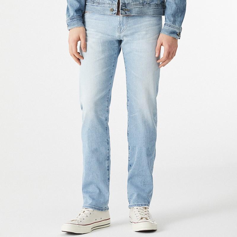 Pantalon Hombre Jean Celeste Motor Oil